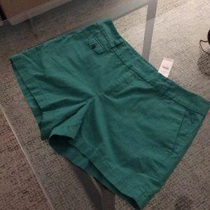 Ann Taylor loft green shorts